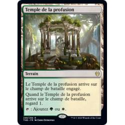 Temple de la profusion / Temple of Plenty
