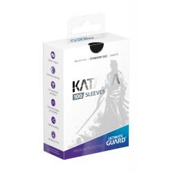 100 pochettes Katana Sleeves taille standard Blanc