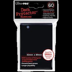 Protèges cartes x60 - Yu-Gi-Oh - Ultra Pro Noir