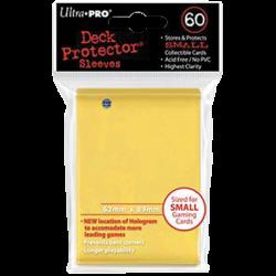 Protèges cartes x60 - Yu-Gi-Oh - Ultra Pro Jaune