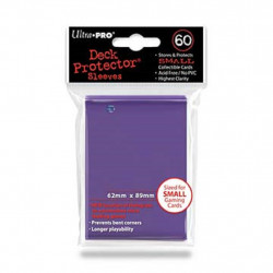 Protèges cartes x60 - Yu-Gi-Oh - Ultra Pro Violet