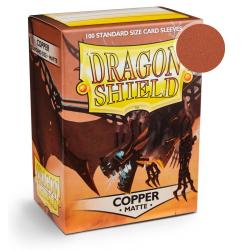 Protèges cartes - Deck Box x100 - Copper Matte