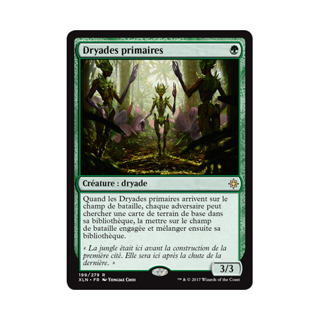 Dryades primaires / Old-Growth Dryads