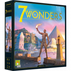 7 Wonders - Asmodée - Repos Production