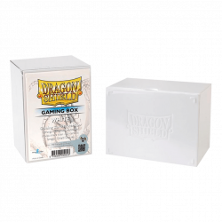Dragon Shield - Boite de Rangement - Gaming Box - Blanc