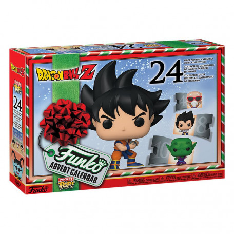 Dragon Ball Pocket Pop Calendrier de  l'Avent (24 pièces)