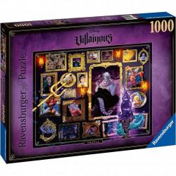 Puzzle 1000 pièces -  Villainous - Ursula