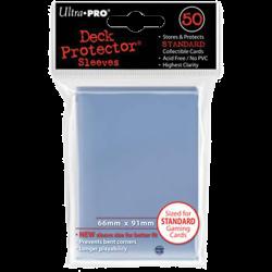 Protèges cartes  X100 - Blanc - Standard Size