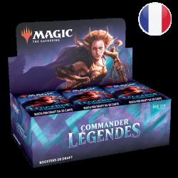 Boîte 24 Boosters Commander Légendes