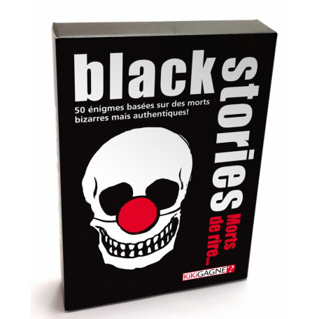 Black Stories - Édition Morts de rire