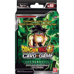 Deck de Démarrage Dragon Ball Super Card Game SD03 Dark Invasion