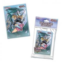 Protèges cartes x50 - Yu-Gi-oH! JCC - Magicienne des Ténèbres le Dragon Chevalier