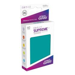 Ultimate Guard 60 pochettes Supreme UX Sleeves format japonais Bleu Pétrole