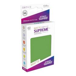Ultimate Guard 60 pochettes Supreme UX Sleeves format japonais Vert Matte