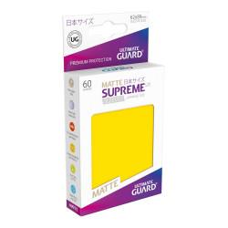 Ultimate Guard 60 pochettes Supreme UX Sleeves format japonais Jaune Matte