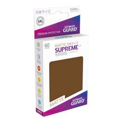 Ultimate Guard 60 pochettes Supreme UX Sleeves format japonais Marron Matte