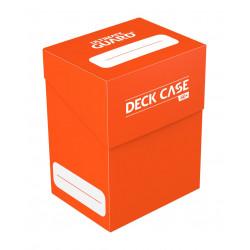 Ultimate Guard boîte pour cartes Deck Case 80+ taille standard Orange