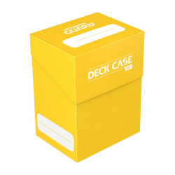 Ultimate Guard boîte pour cartes Deck Case 80+ taille standard Jaune