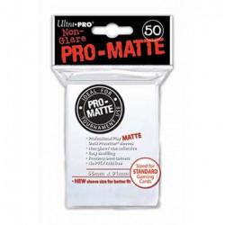 Protèges cartes  X50 - Transparent - Matte Standard Size