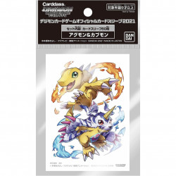 Digimon Card Game - Protège-Cartes Agumon / Gabumon x60