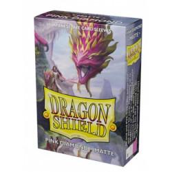 Dragon Shield 60 pochettes - Sleeves format japonais - Pink Diamond