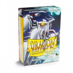 Dragon Shield 60 pochettes - Sleeves format japonais - White Matte