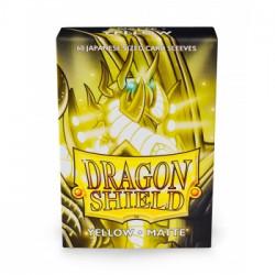 Dragon Shield 60 pochettes - Sleeves format japonais - Yellow Matte