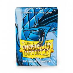 Dragon Shield 60 pochettes - Sleeves format japonais - Sky Blue Matte