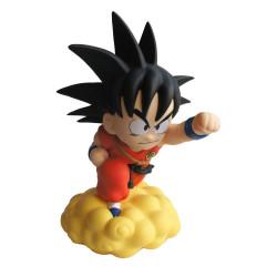 Dragon Ball tirelire Chibi  PVC - Son Goku sur le Nuage Magique 22 cm