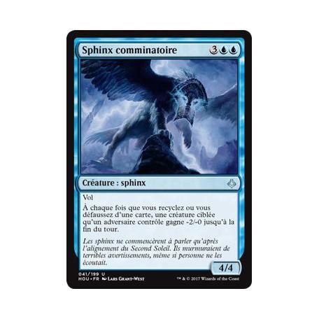 Sphinx comminatoire / Ominous Sphinx