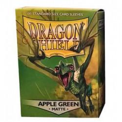 Protèges cartes - Deck Box x100 - Matte Apple Green