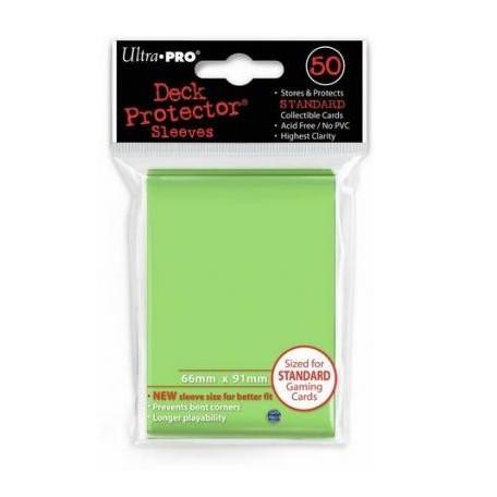 Protèges cartes  X50 - Citron Vert - Standard Size