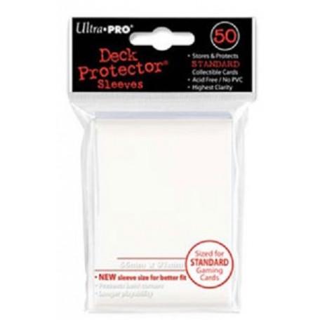 Protèges cartes  X50 - Blanc - Standard Size
