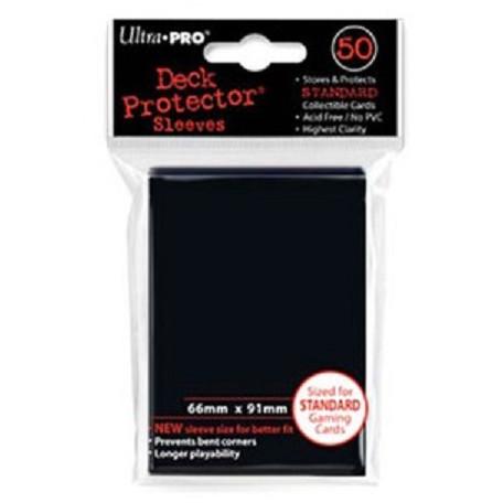 Protèges cartes  X50 - Noir - Standard Size