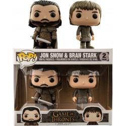 Pack Jon Snow & Bran Stark