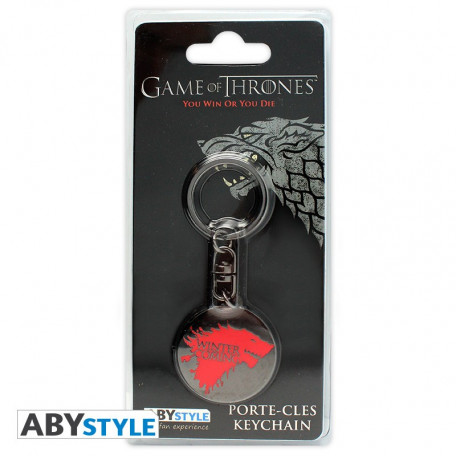Porte-clés - Game of Thrones - Winter is coming