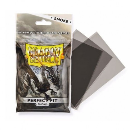 Protèges cartes  Perfect Fit x100 - Smoke