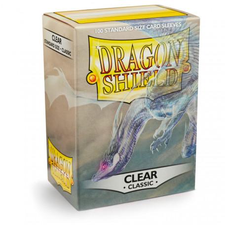 Protèges cartes - Deck Box x100 - Clear Classic
