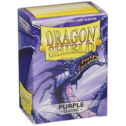 Protèges cartes - Deck Box x100 - Purple Classic