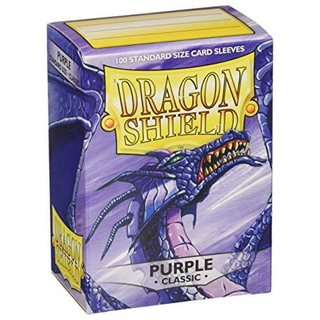 Protèges cartes - Deck Box x100 - Purple Classic