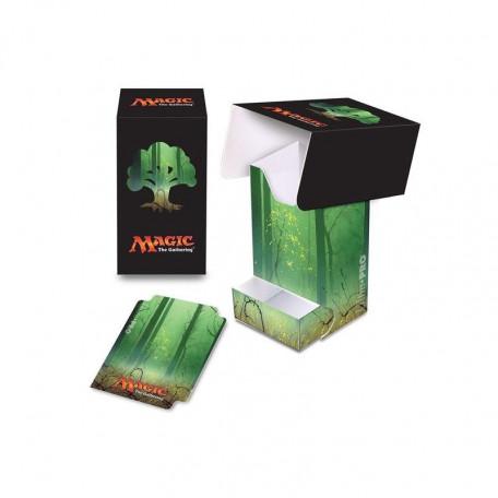 Deck Box  Mana Forêt  80+ avec tiroir