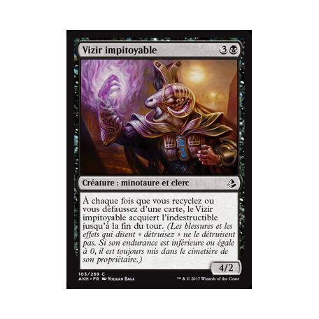 Vizir impitoyable / Pitiless Vizier