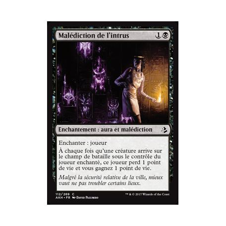 Malédiction de l'intrus / Trespasser's Curse