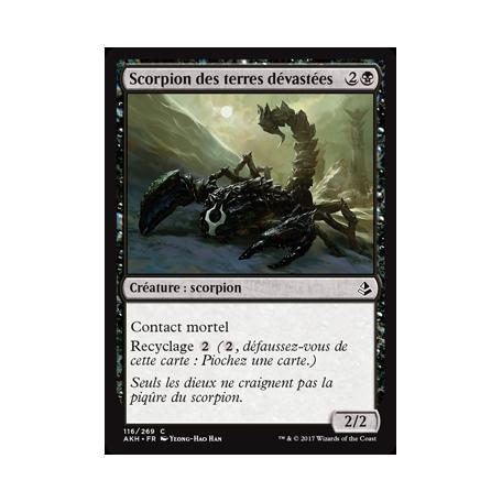Scorpion des terres dévastées / Wasteland Scorpion