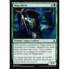 Naga alerte / Watchful Naga
