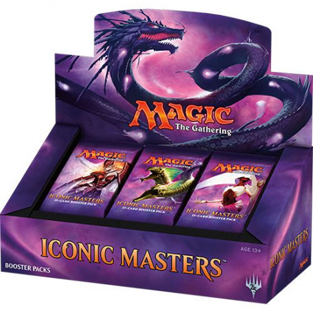 Boîte  24 Boosters Iconic Masters