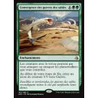 Convergence des guivres des sables / Sandwurm Convergence