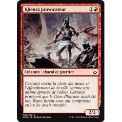 Khenra provocateur / Defiant Khenra