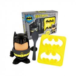 Coquetier et emporte-pièces Toast Batman