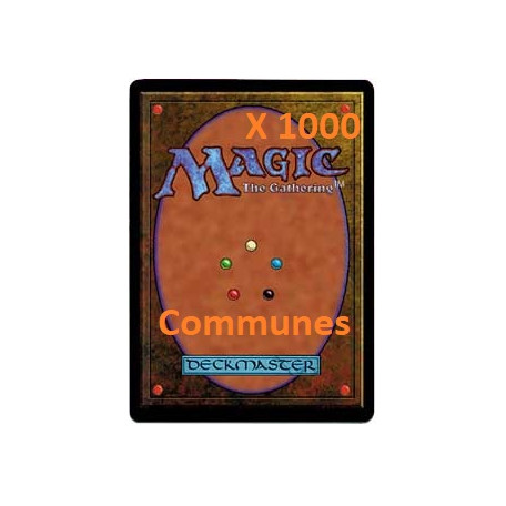 Lot de 1000 Communes  VF - VO